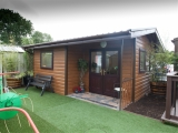 1 Bedroom Garden Chalet External