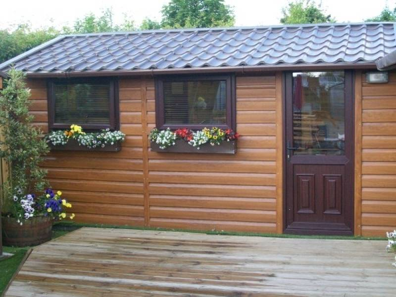 wooden garden shed home office. Timber Effect Home Office. Wooden Garden Shed Office